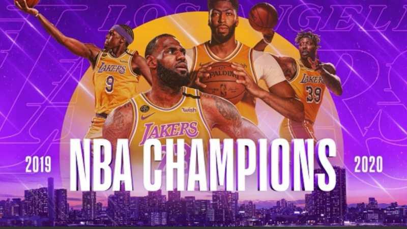 Basket NBA : Titolo ai Lakers nel segno di KOBE