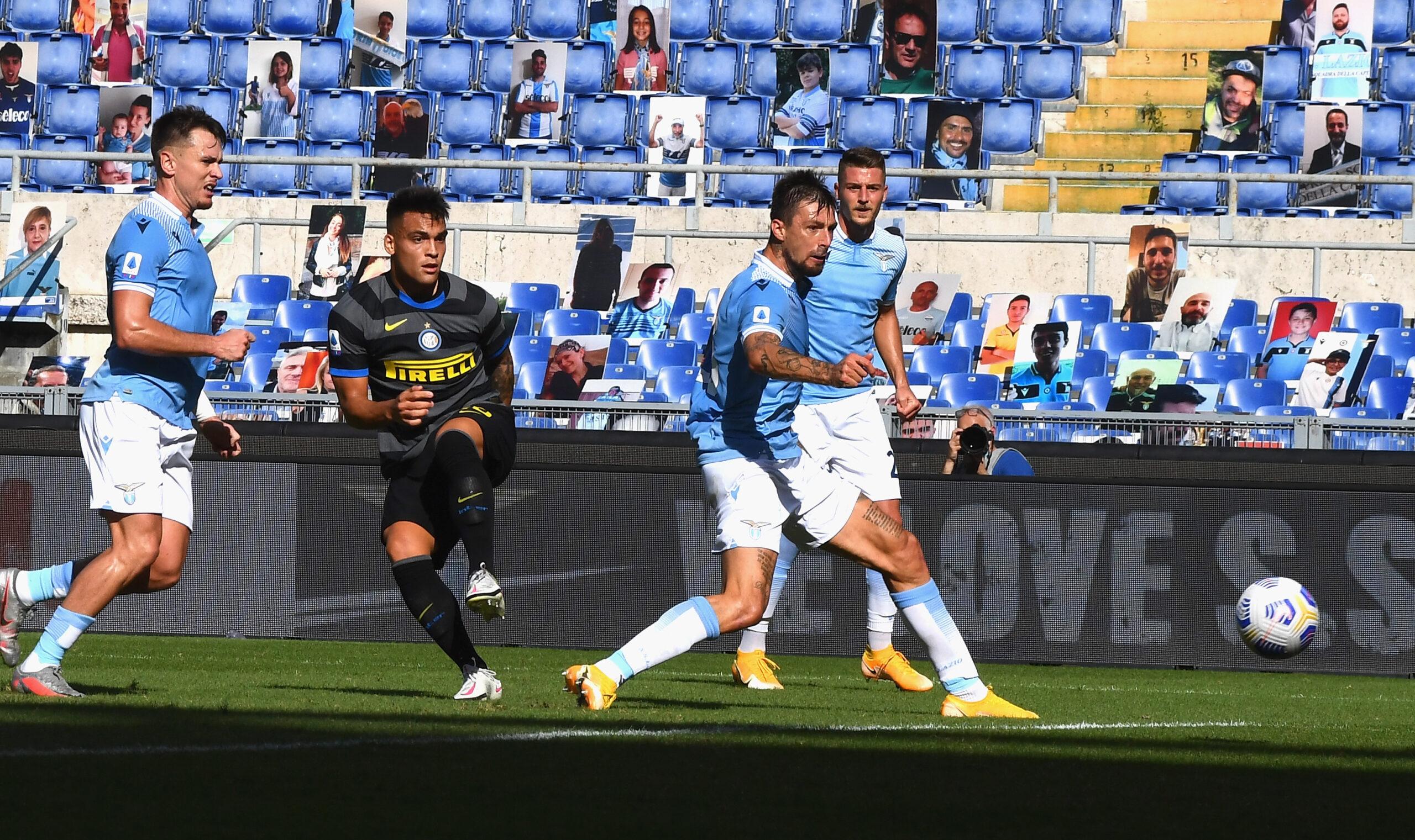 Lazio- Inter 1-1. Un pari raggiunto con forza e determinazione.
