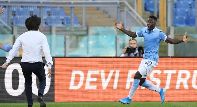 """Lazio -Juventus 1-1. """"La Lazio non muore mai"""" pareggio strappato con la forza del gruppo."""