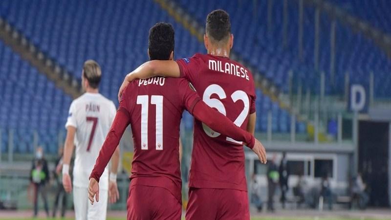 Europa League: cinquina della Roma contro il Cluj