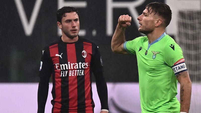 Milan – Lazio 3-2. Sconfitta (immeritata) arrivata nel recupero con i soliti errori di concentrazione