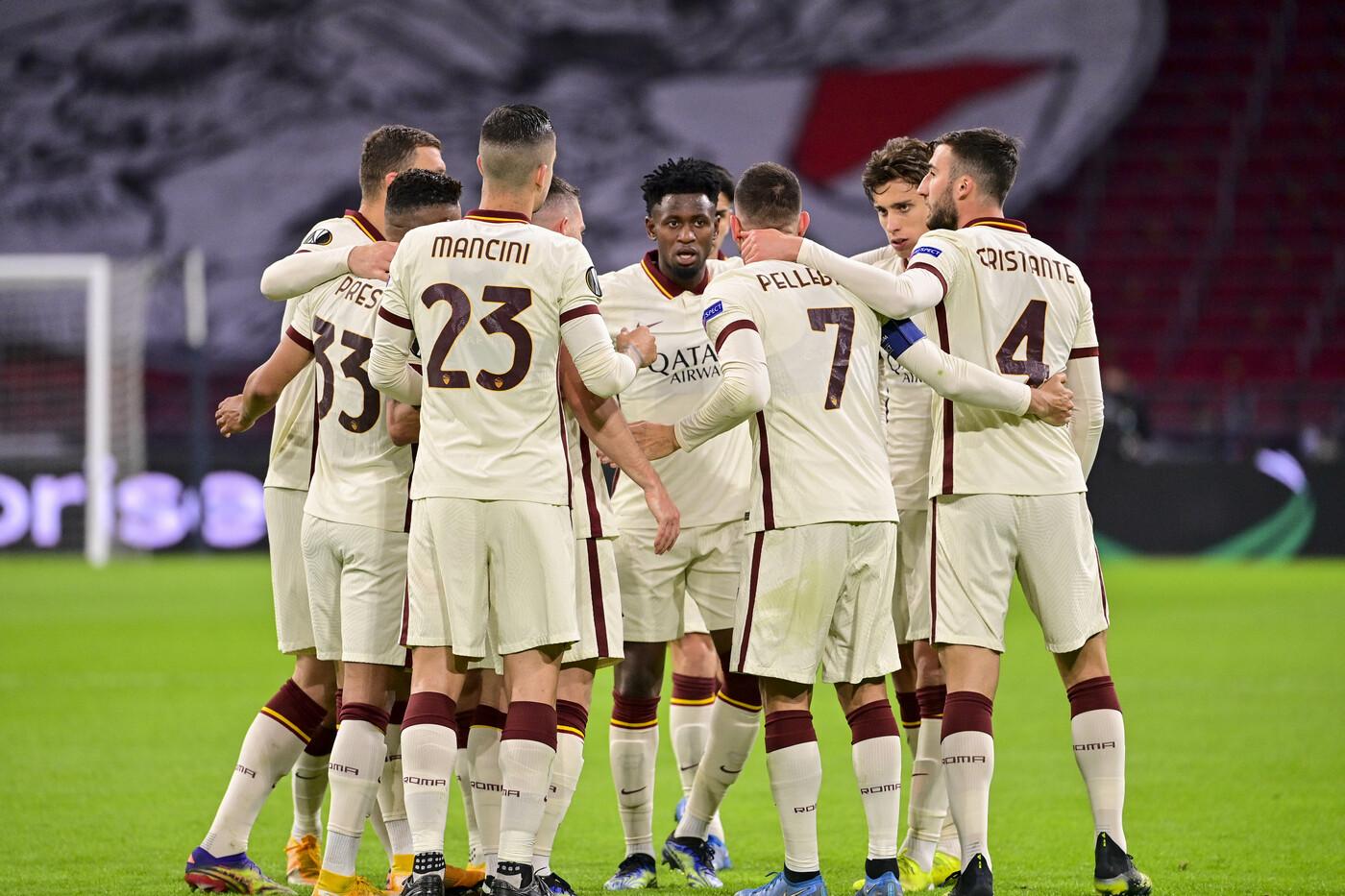 Ajax 1-2 Roma: vittoria in rimonta dei giallorossi di Paulo Fonseca