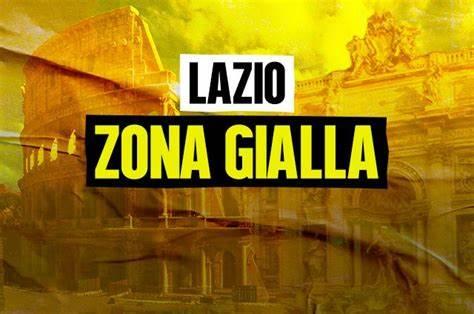 Lazio zona gialla e riaperture dal 26 aprile, quando arriva il cambio di colore