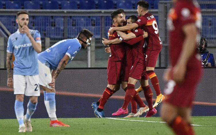 Roma 2-0 Lazio: i giallorossi si aggiudicano il derby della Capitale