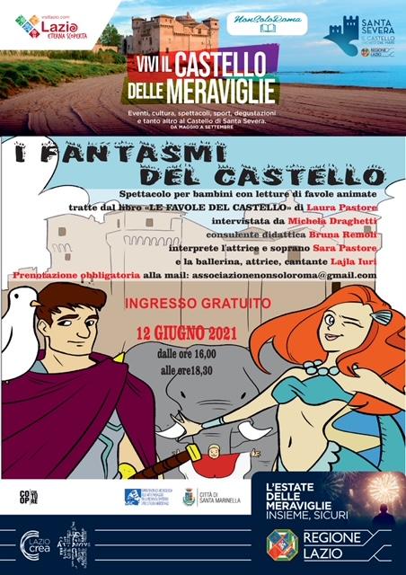 Eventi: arrivano i fantasmi al Castello di Santa Severa