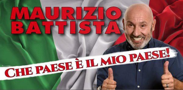 Teatro Olimpico, torna lo spettacolo di Maurizio Battista dal 22 giugno al 4 luglio.