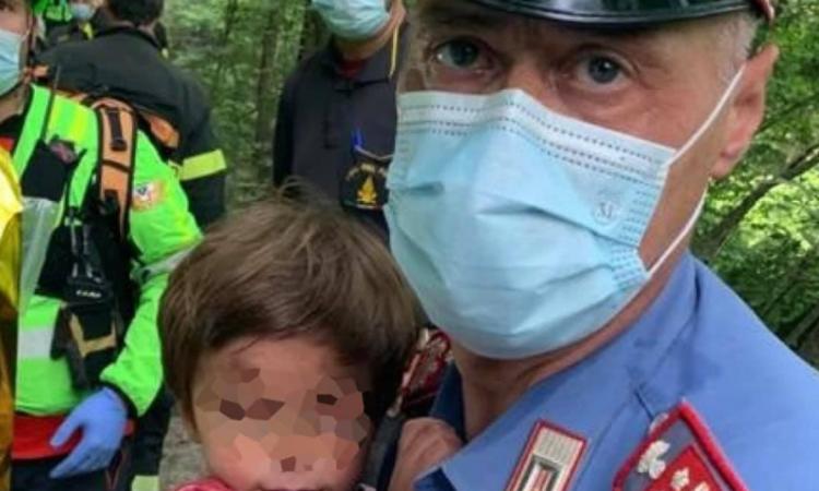 Mugello, Nicola è salvo: trovato vivo bimbo scomparso