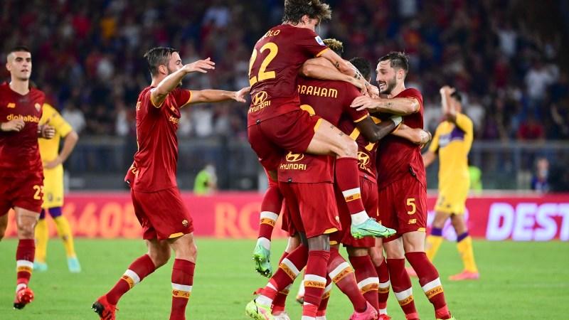 Roma-Fiorentina: Abraham super, Veretout goleador