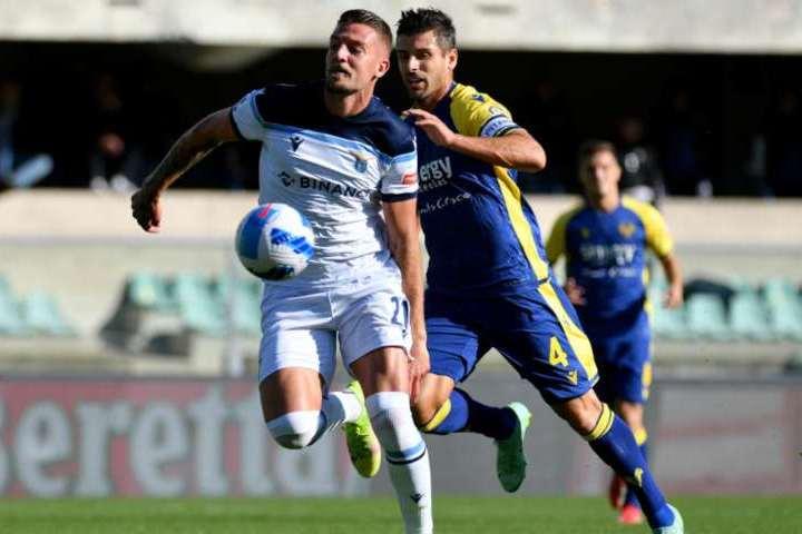 Hellas Verona-Lazio 4-1. Brutto arresto dei biancocelesti contro i gialloblù.