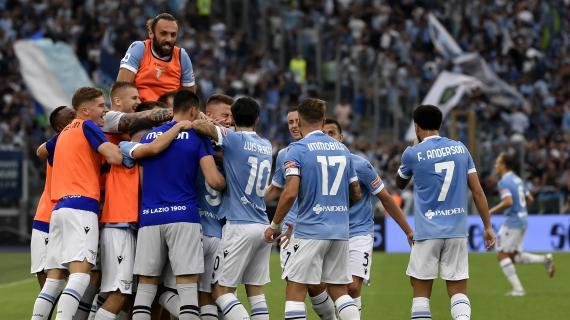 Lazio – Lokomotiv Mosca 2-0. Bella prestazione della Lazio,  si intravede la mano di Sarri.
