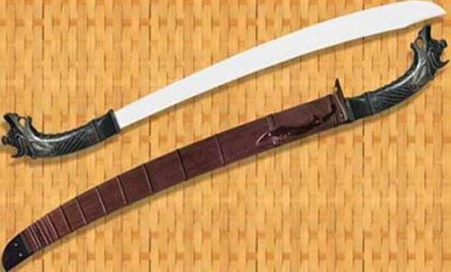 Senjata Tradisional Klewang Padang