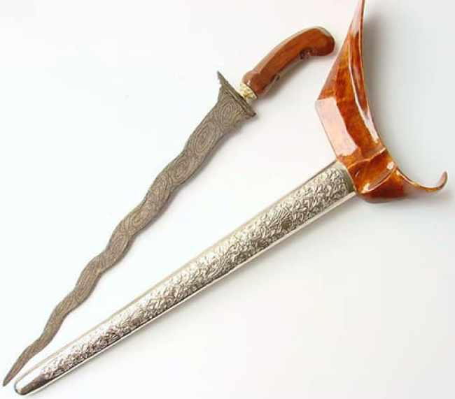 Senjata Tradisional Gayang