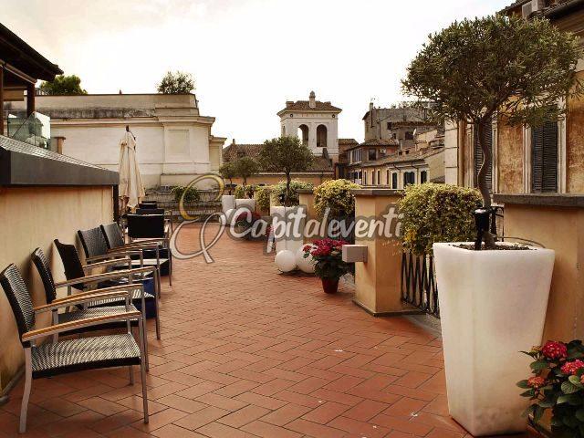 Terrazza dei Cesari Roma roof garden per feste private Roma
