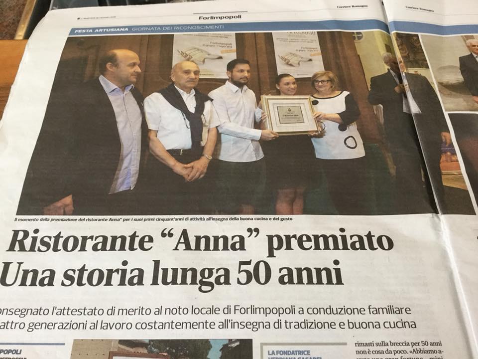 Ristoranti Forl  Ristorante Anna a Forlimpopoli FC