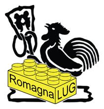 Il mattoncino e il gallo con la caveja, simbolo della Romagna