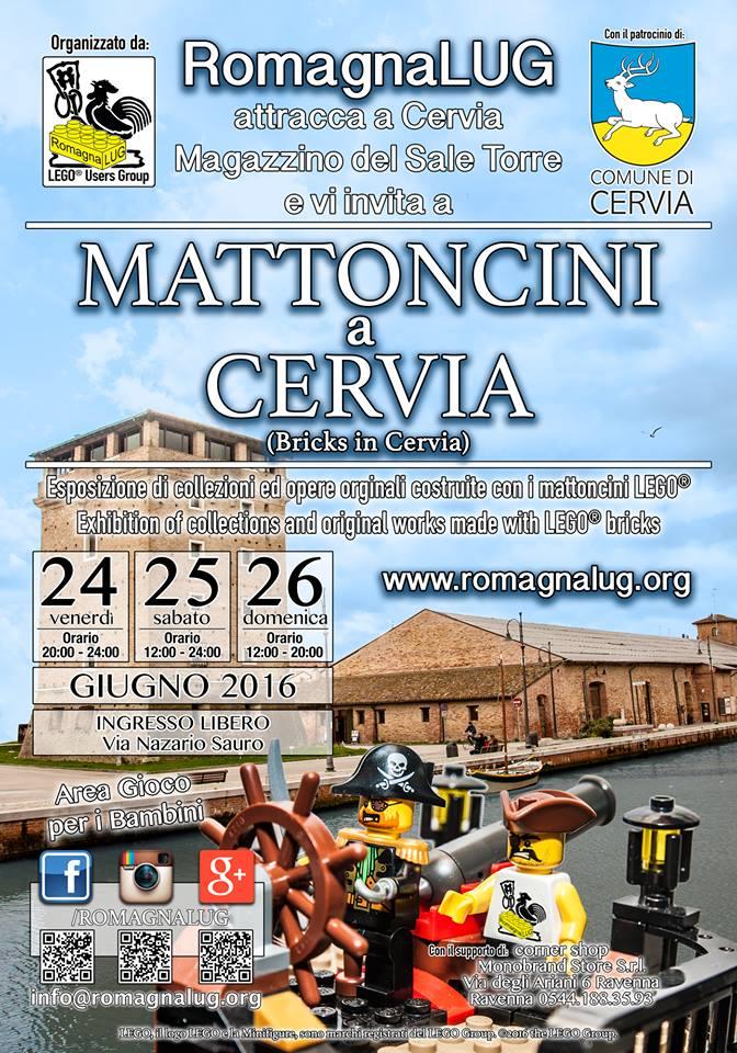 MATTONCINI A CERVIA - GIUGNO 2016