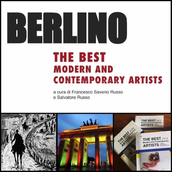 "MICHELE ANGELICCHIO IL SOLDATO ARTISTA A BERLINO  IN ""THE MODERN AND CONTEMPORARY ARTISTS 2017"""