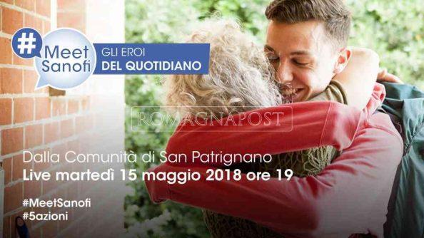 #meetsanofi martedì 14 maggio alle ore 19 in diretta web da San Patrignano