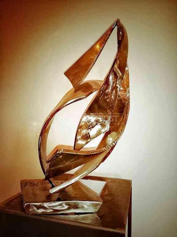Giuseppe Floccari scultore di fluidodinamica