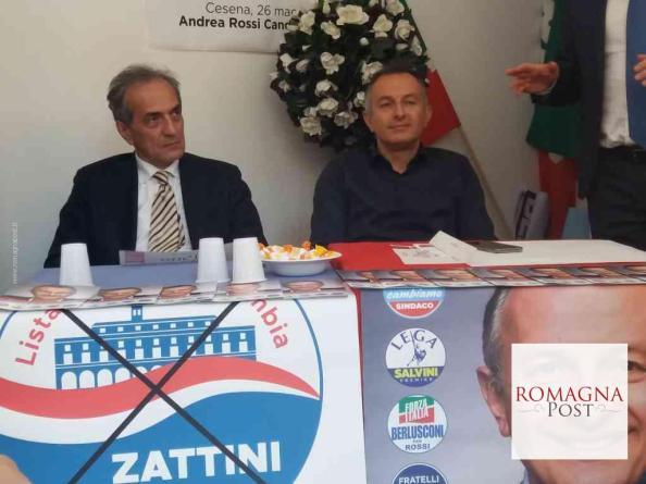 e7b717965 Da sinistra Gianluca Zattini e Andrea Rossi. Sottoscrivere un protocollo  d intesa per lo scambio di ...