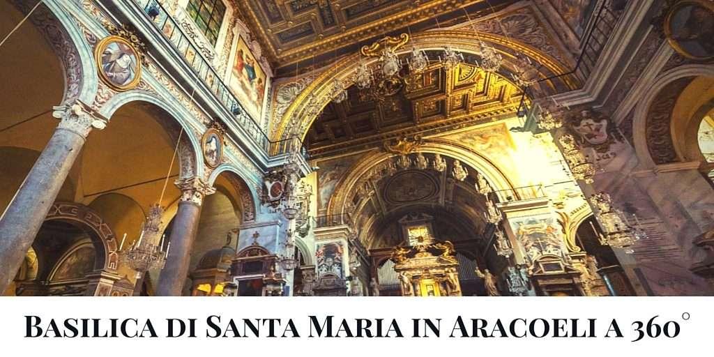 Basilica di Santa Maria in Aracoeli a 360  Roma Ieri Oggi