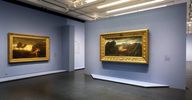 Exposition Charles Gleyre Le romantique repenti - Musée d'Orsay Paris - Scenographie (c) Photo musee d'Orsay Sophie Boegly