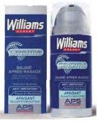 Williams Expert- Baume après-rasage Sensitive