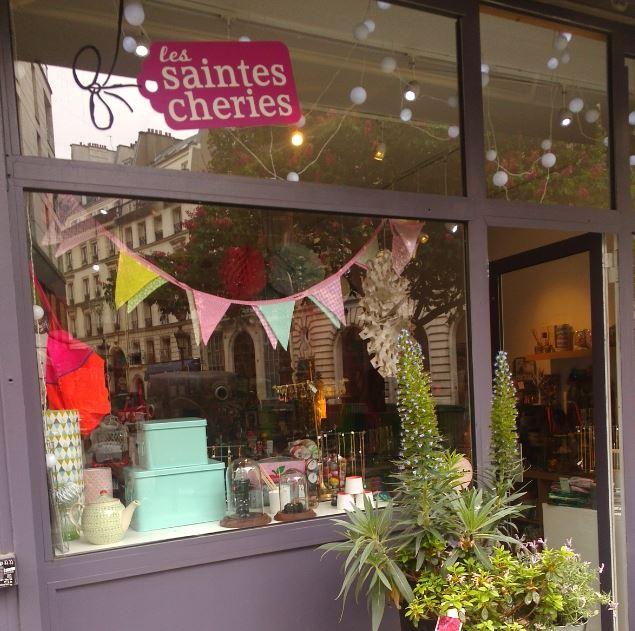 Paris Les Saintes Chéries boutique