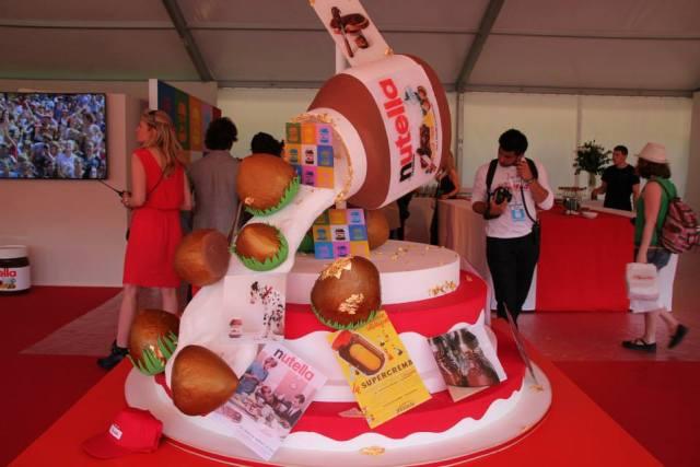 Gâteau anniversaire Nutella