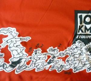 Course 10 KM l'equipe 2014