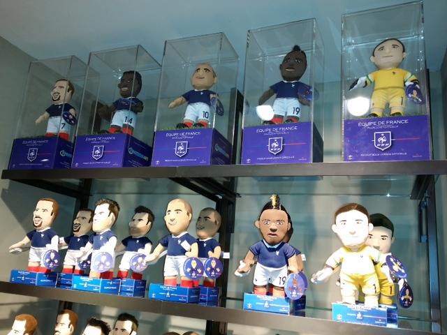 Equipe de France de football FFF Poupluche Karim Benzema 25 cm