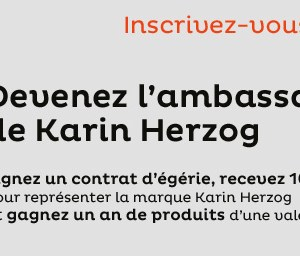 concours Ambassadrice Karin Herzog