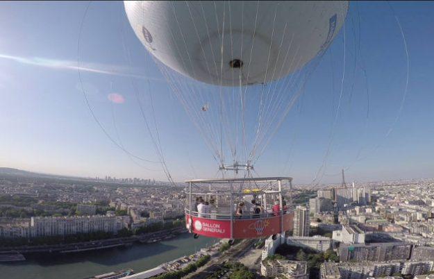Ballon de Paris Générali Parc André Citroën