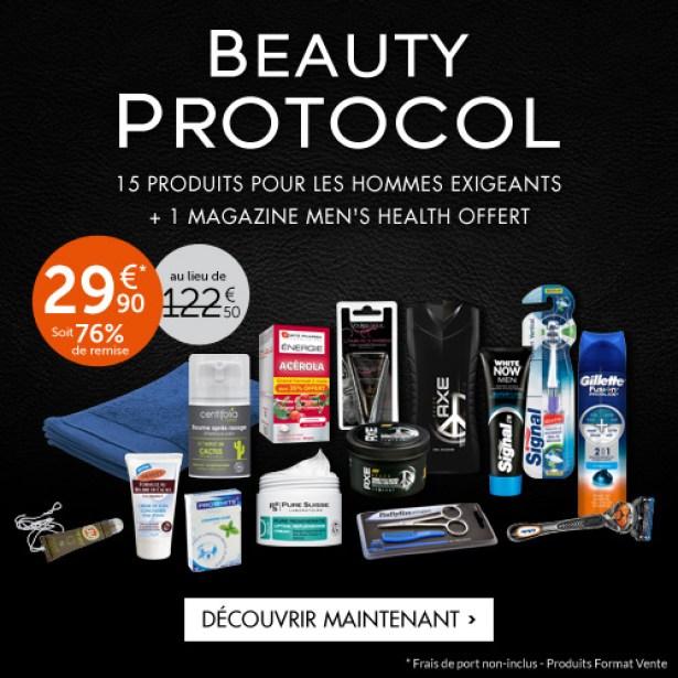 Betrousse Beauty Protocol - Coffret cadeau Noël Homme