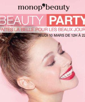 Beauty Party par Monop' Beauty