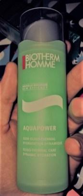 Biotherm Homme Aquapower Soin Oligo Thermal Hydratation Dynamique Test et avis