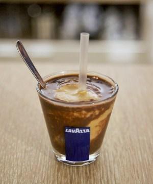 Préparation exclusive chocolat et café Lavazza