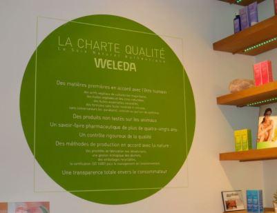 Charte qualité weleda