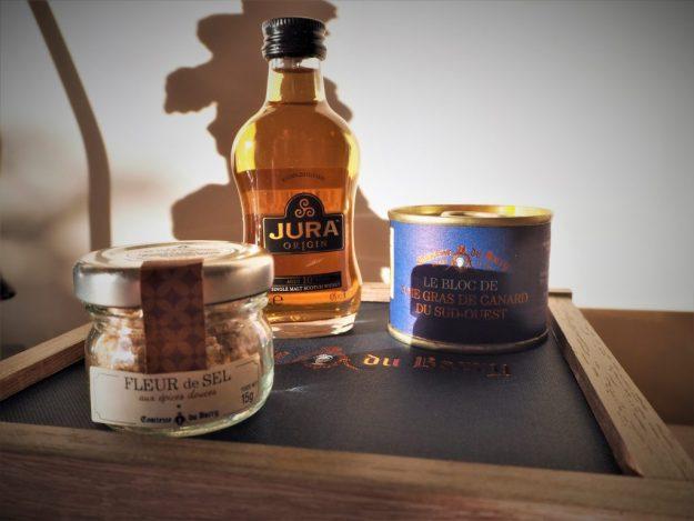 Coffret cadeau foie gras et epicerie fine Comtesse du Barry