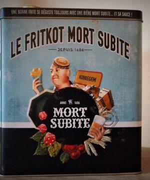 Coffret vintage Frikot bière belge Mort Subite