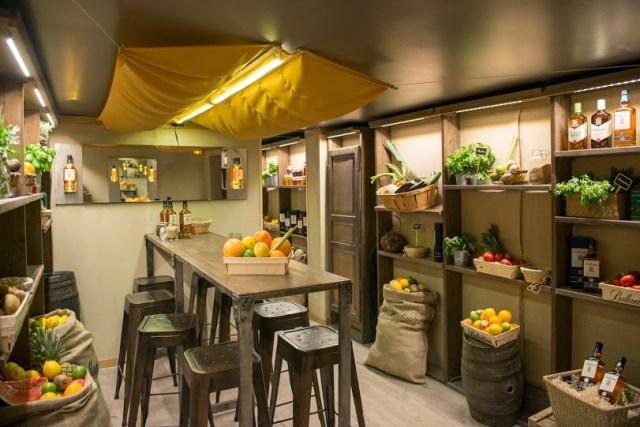Epicerie Bar éphémère à Paris -  Ballantine's