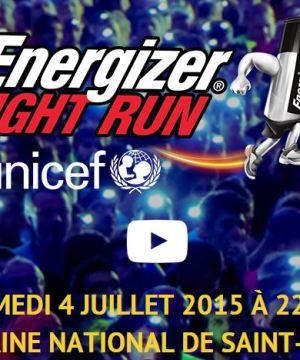 Energizer Night Run Paris 4 juillet