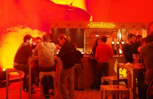 Paris Cour du Marais, soirée lancement Grimbergen Elixir