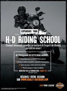 Harley Davidson Experience Tour 2017 H D Riding School
