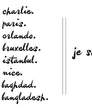 Je suis Nice, je suis Paris, je suis Charlie... je suis épuisé... (Huffington Post)