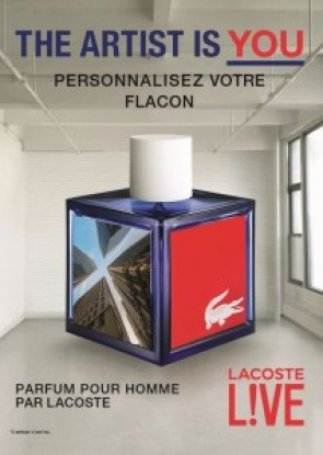 LACOSTE L!VE L'Artiste Is You