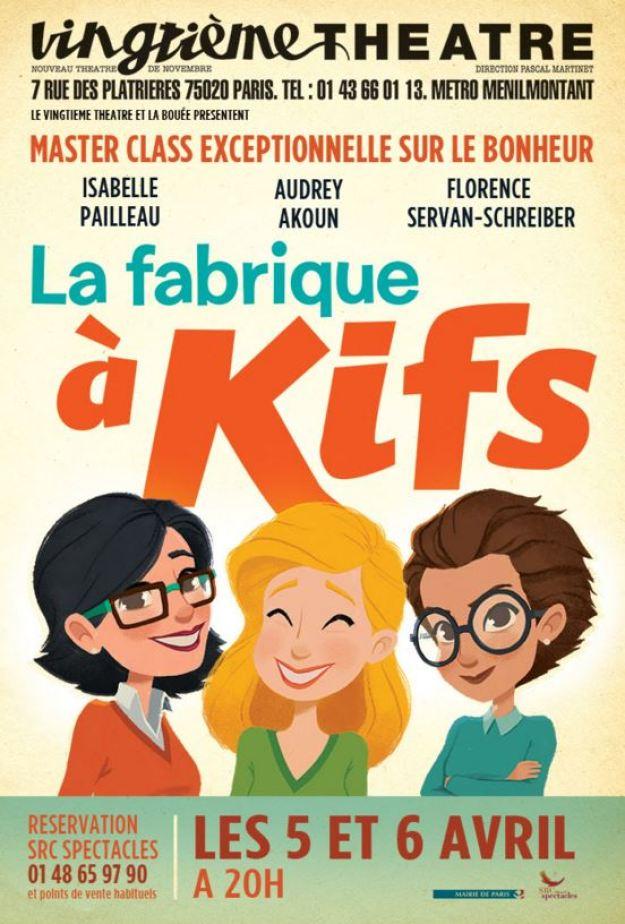La Fabrik à Kifs - Vingtième Théâtre Paris