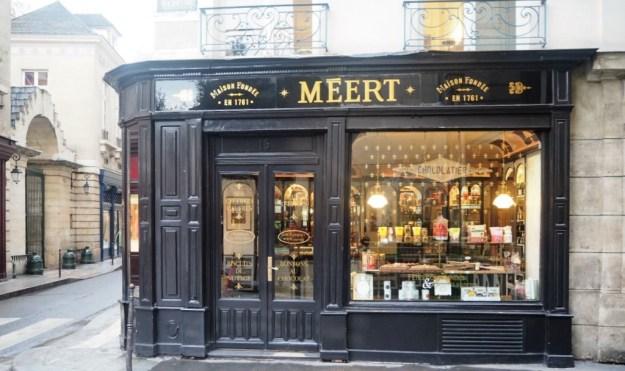Méert 16 rue Elzévir 75003 Paris