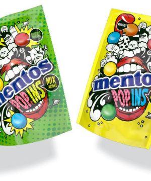 A découvrir les nouveaux Mentos Pop Ins Fruits Acides & Mix Fruits