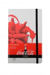 Carnet de notes Moleskine - Collection Coca-Cola 100 bouteille Contour